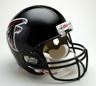 Atlanta Falcons Autographed Full Size Riddell Deluxe Replica Football Helmets