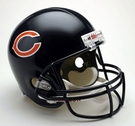 Chicago Bears Autographed Full Size Riddell Deluxe Replica Football Helmets