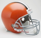 Cleveland Browns Autographed Full Size Riddell Deluxe Replica Football Helmets