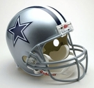 Dallas Cowboys Autographed Full Size Riddell Deluxe Replica Football Helmets