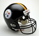 Pittsburgh Steelers Autographed Full Size Riddell Deluxe Replica Football Helmets