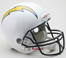 San Diego Chargers Autographed Full Size Riddell Deluxe Replica Football Helmets