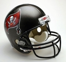 Tampa Bay Bucs Autographed Full Size Riddell Deluxe Replica Football Helmets