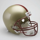 Boston College Autographed Full Size Riddell Deluxe Replica Football Helmets