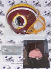 John Riggins - Riddell - Autographed Mini Helmet w/HOF 92 - Washington Redskins - PSA/DNA