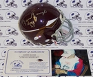 Sammy Baugh - Riddell - Autographed Mini Helmet - Washington Redskins - PSA/DNA