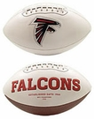 Matt Ryan - Autographed Atlanta Falcons Full Size Logo Football
