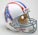 Houston Oilers 1975-1980 Throwback Riddell NFL Full Size Deluxe Replica Football Helmet