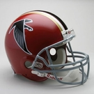 Atlanta Falcons 1966-1969 Throwback Riddell Authentic NFL Full Size On Field Proline Football Helmet