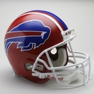 Buffalo Bills 1987-2001 Throwback Riddell Authentic NFL Full Size On Field Proline Football Helmet