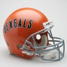 Cincinnati Bengals 1968-1979 Throwback Riddell Authentic NFL Full Size On Field Proline Football Helmet