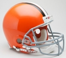 Cleveland Browns 2006-2014 Riddell Authentic NFL Full Size On Field Proline Football Helmet