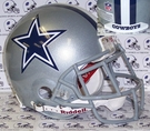 Dallas Cowboys Riddell Authentic NFL Full Size On Field Proline Football Helmet w/Emmitt Smith style Face Mask