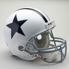 Dallas Cowboys 1960-1963 Throwback Riddell Authentic NFL Full Size On Field Proline Football Helmet
