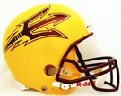 Arizona State Sun Devils Riddell NCAA Full Size Deluxe Replica Football Helmet
