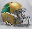 Notre Dame Fighting Irish (Shamrock) Riddell Authentic NCAA Full Size On Field Proline Revolution Speed Football Helmet