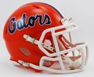 Florida Gators Speed Revolution Riddell Mini Football Helmet