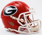 Georgia Bulldogs Speed Revolution Riddell Mini Football Helmet