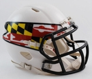 Maryland Terps Speed Revolution Riddell Mini Football Helmet
