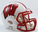 Wisconsin Badgers Speed Revolution Riddell Mini Football Helmet