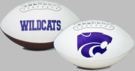 Kansas State Wildcats Logo Full Size Signature Series Football