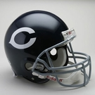 Dick Butkus - Autographed Chicago Bears Throwback Riddell Full Size Authentic Proline Football Helmet