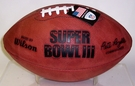 Wilson F1007 Official Leather NFL Super Bowl III Game Football