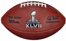 Wilson Official Leather NFL® SUPER BOWL XLVII Game Football