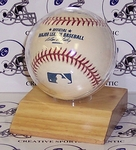 Wood base Baseball Holder