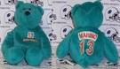"Dan Marino #13 Limited Treasures 8"" Miami Dolphins Beanie Bear"