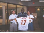 Doug Williams signing - March 23, 2002