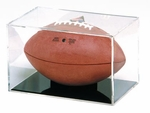 Football Qube with Black Grand Stand Base