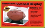 Football Qube with Black Grand Stand Base and UV Protection