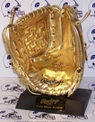 Autographed Official Rawlings Mini Gold Glove Mitts