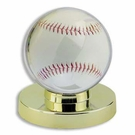 Gold Base Collector Safe Baseball Holder