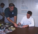 John Lynch signing - Nov, 9 2002