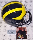 Autographed - Full Size Riddell Deluxe Replica Football Helmets - NCAA