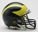 Michigan Wolverines Autographed Mini Helmets