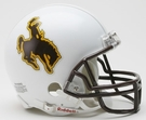 Wyoming Cowboys Autographed Mini Helmets