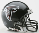 Atlanta Falcons Autographed Mini Helmets