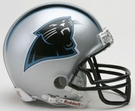 Carolina Panthers Autographed Mini Helmets
