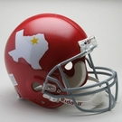Dallas Texans 1960-1962 Throwback Riddell Authentic NFL Full Size On Field Proline Football Helmet