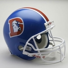 Denver Broncos 1975-1996 Throwback Riddell Authentic NFL Full Size On Field Proline Football Helmet