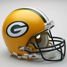 Green Bay Packers Riddell Authentic NFL Full Size On Field Proline Football Helmet