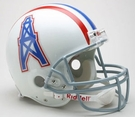 Houston Oilers 1975-1980 Throwback Riddell Authentic NFL Full Size On Field Proline Football Helmet
