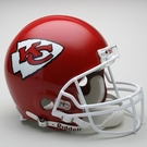 Kansas City Chiefs Riddell Authentic NFL Full Size On Field Proline Football Helmet