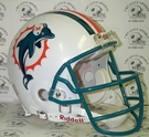 Miami Dolphins Riddell Authentic NFL Full Size On Field Proline Football Helmet - Dan Marino Mask