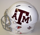 Texas A&M Aggies - Riddell Authentic Revolution Speed NFL Full Size On Field Football Helmet