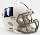 Duke Blue Devils Speed Revolution Riddell Mini Football Helmet