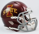 Iowa State Speed Revolution Riddell Mini Football Helmet